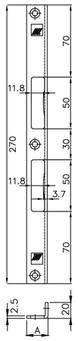 Winkelschliessblech MSL B-1854.133