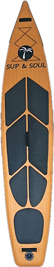 Standuppaddeln SUP Board Touring Expedition Holzoptik Holzboard