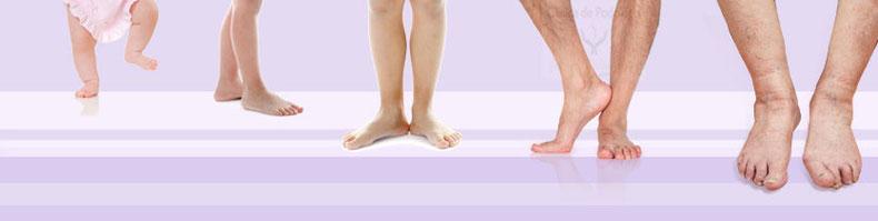 los pies a todas las edades