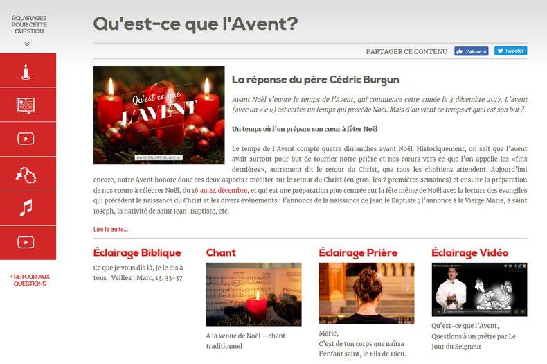 Accédez à l'article complet et aux différents éclairages sur noel.catholique.fr