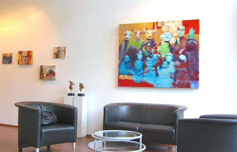 Bilder von Izabella Chulkova in der Galerie Anne Malchers