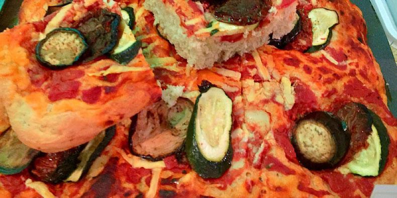vegan pizza vegan sweet tooth london