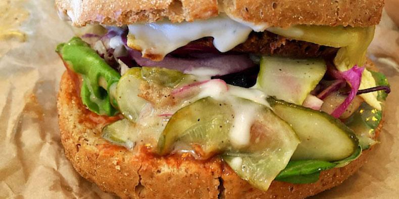 vegan cheeseburger greenburger copenhagen