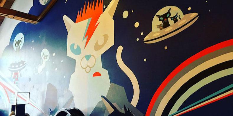 Beer. Yoga. Cats. Portland's Cat Cafe: Purrington's Cat Lounge