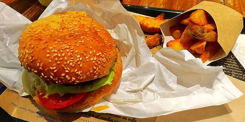 vegan cheeseburger hank burger paris