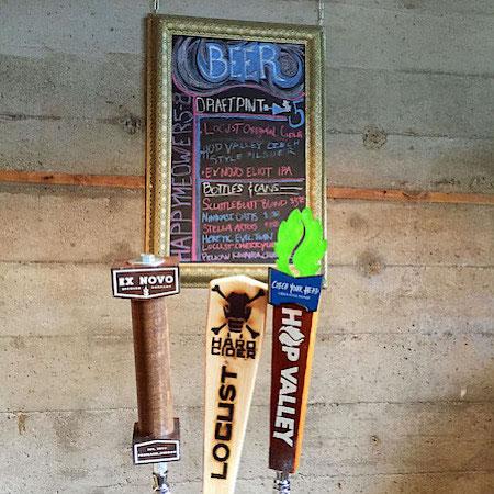 beer tap purrington's cat cafe