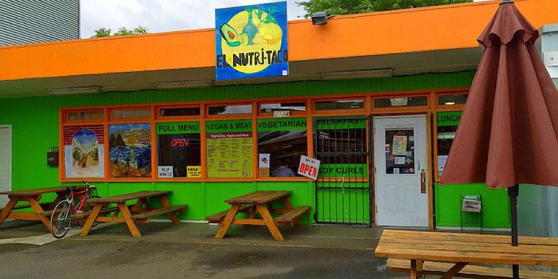Portland Vegan Bites: El Nutritaco