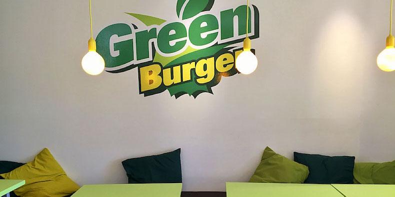 GreenBurger dining area