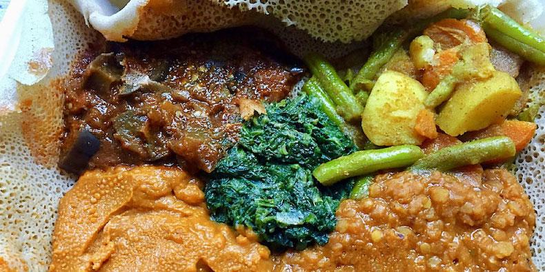 ethiopian injera meal mooshka amsterdam