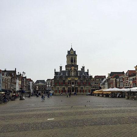 Market Square Delft Holland