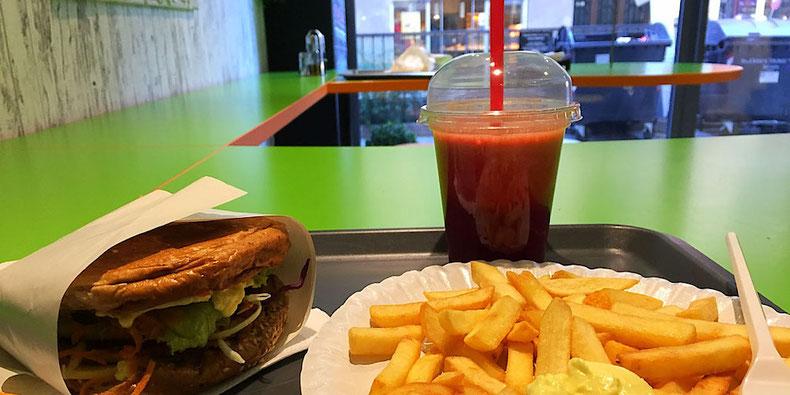vegan cheeseburger menu green point zagreb croatia