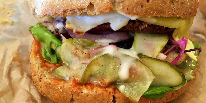 Tease Burger GreenBurger Copenhagen
