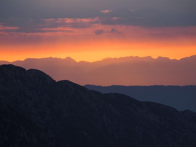 Crna Gora- die Schwarzen Berge