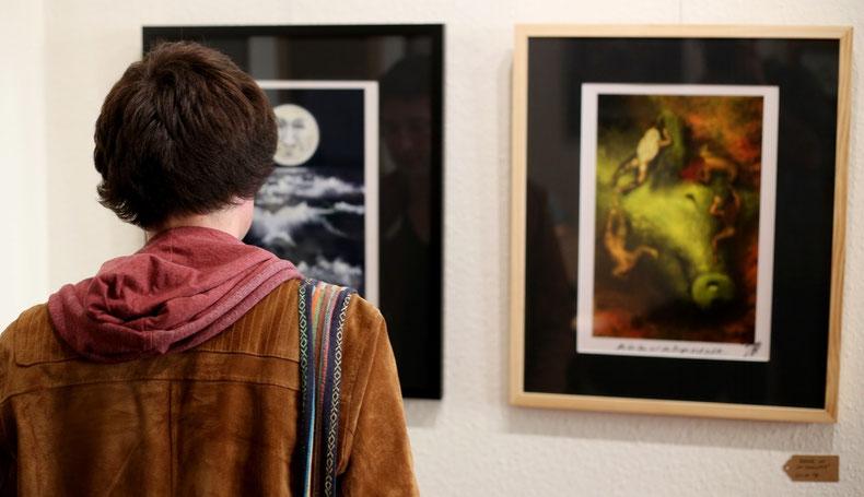 Kunstwerke bewusst betrachten, am besten in echt    ©Tonic Picturesque