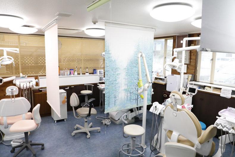 斉藤歯科医院院内