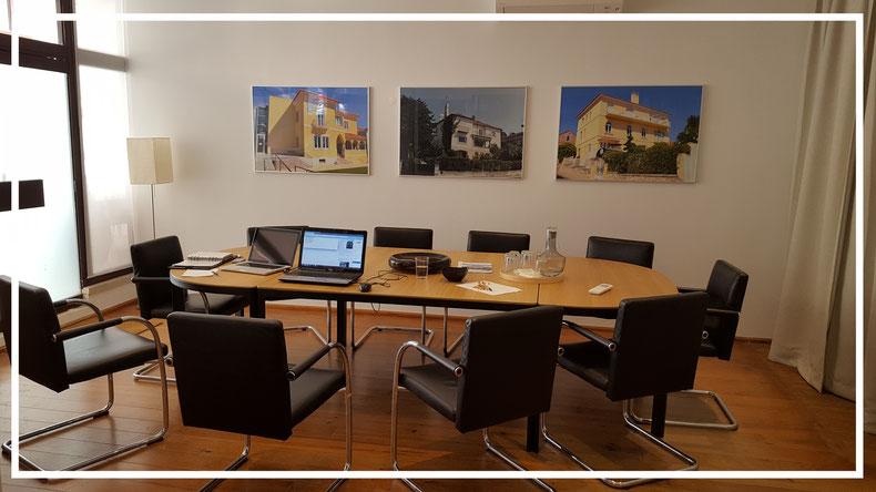 Das Büro der Bartholomäus-Brüderschaft in Estoril, wo die Vereinigung seit April 2015 ihren Sitz hat.