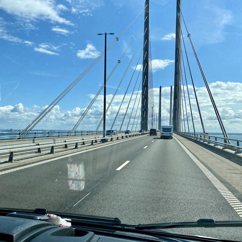 Öresundbrücke. Überfahrt mit Sightseeing-Charakter