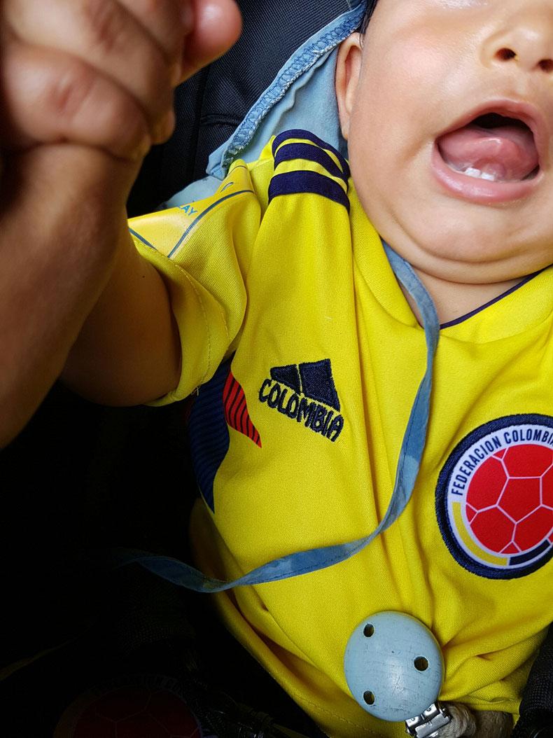 Mi bebe colombiano
