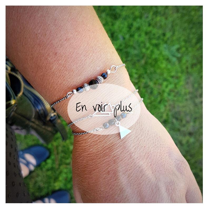 Bracelets fins composition wish list de Noël idée cadeau pour les filles