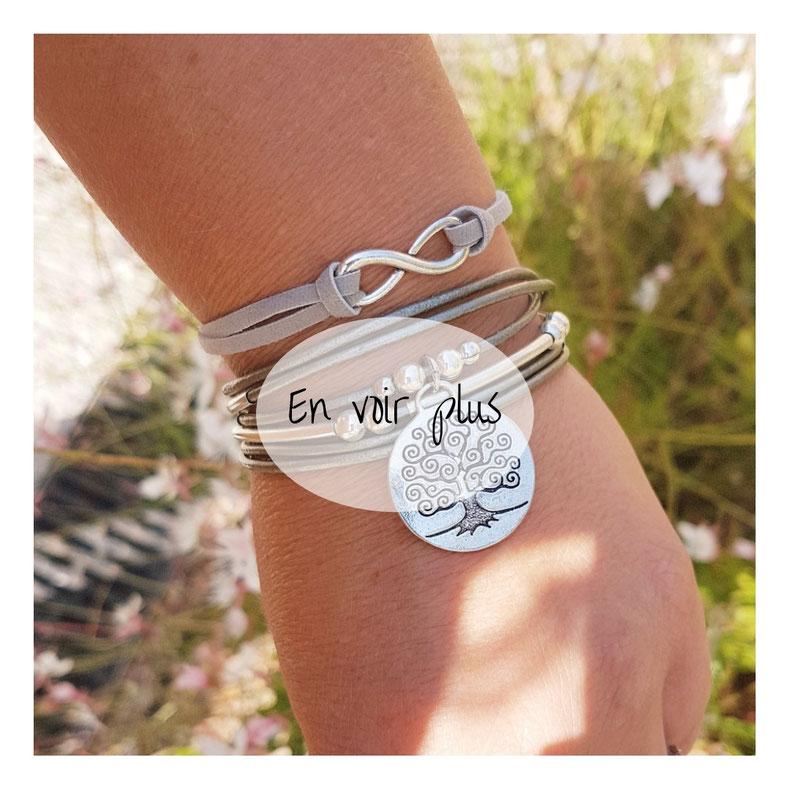 Le bracelet infini cadeau pour fille intemporel