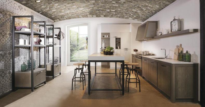 Industrial Design Kuchen Wohnconcepte