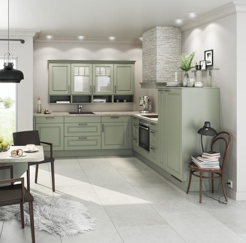 Landhausküche Weiß landhausküche salbei oder weiß wohnconcepte