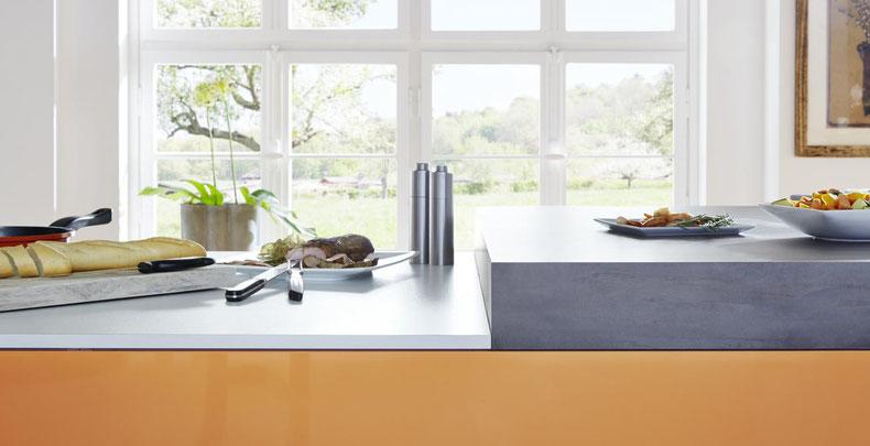 Arbeitsplatten für die Küche - wohnconcepte
