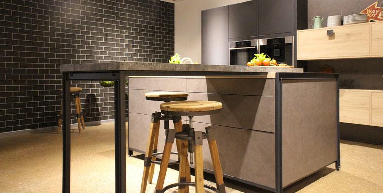 Küchentheke im Industrial Design