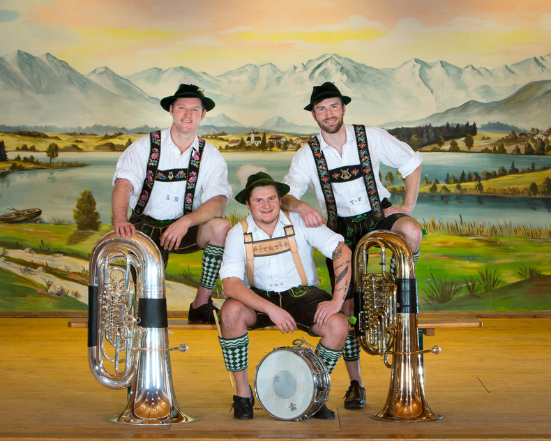 v.l.: Lorenz, Stephan, Tobi