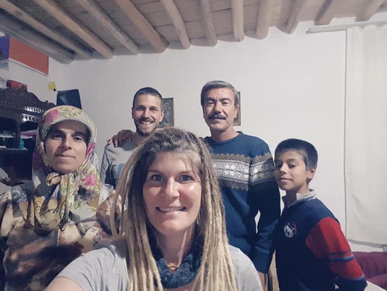 Türkische Familie