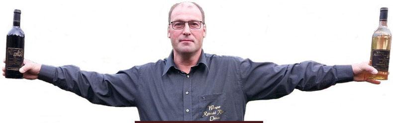 Bernd Riske aus Dernau vom Weingut Reinhold Riske an der Ahr.