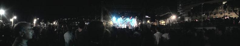 Panorama du concert - Cliquez pour agrandir