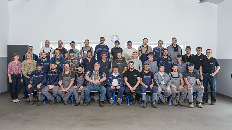 Das Team der Eisengießerei Th. Schultz in Warendorf