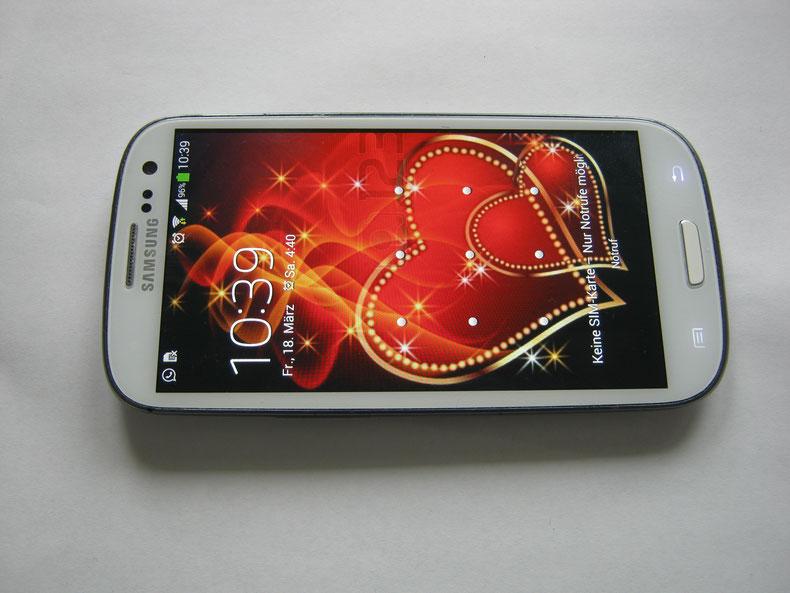 Samsung Smartphone, Berlin Dahlem
