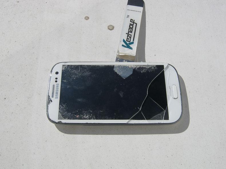 defektes Smartphone Display Lichterfelde