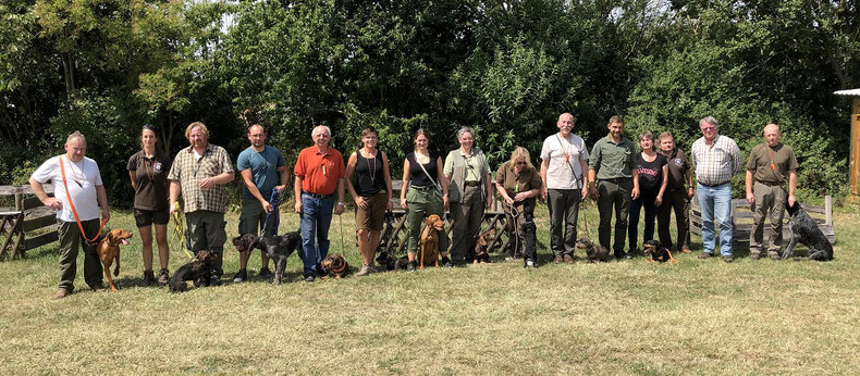 Jagdhundeausbildung / Begleithundeausbildung Jagdschutzverein Hubertus Neumarkt