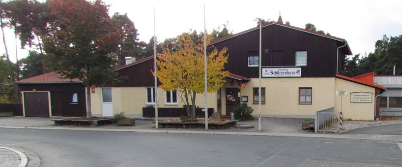 Das Vereinsheim der SG 1433 Neumarkt