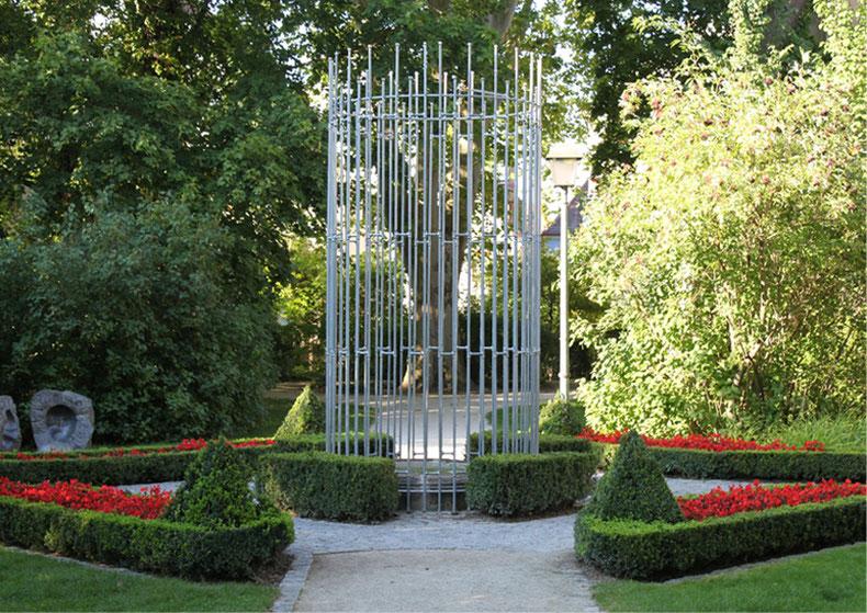 """""""Fontäne"""" - 2011 - Situation: Apothekergarten, Schwabach"""
