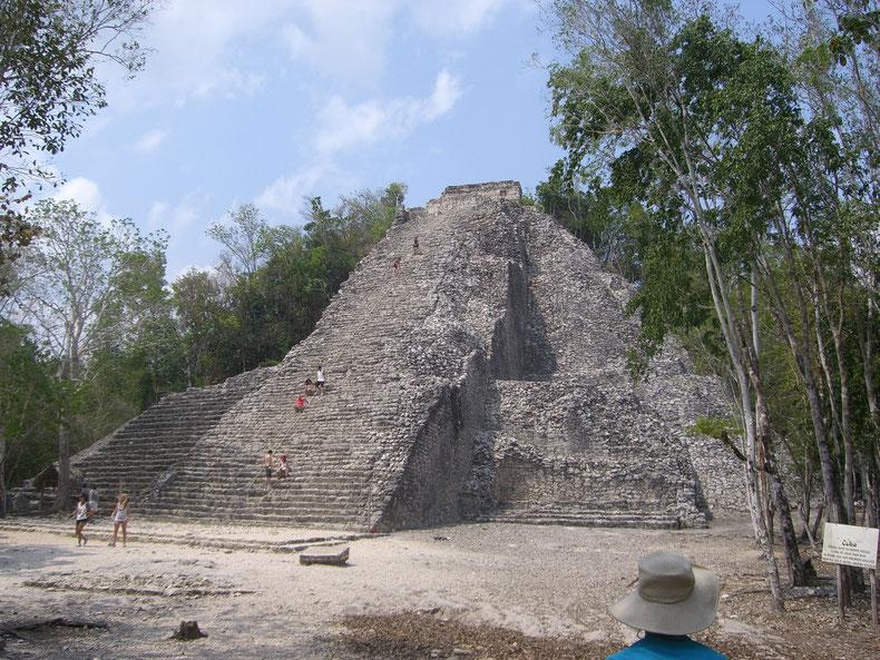Pyramide von Nohoch Mul