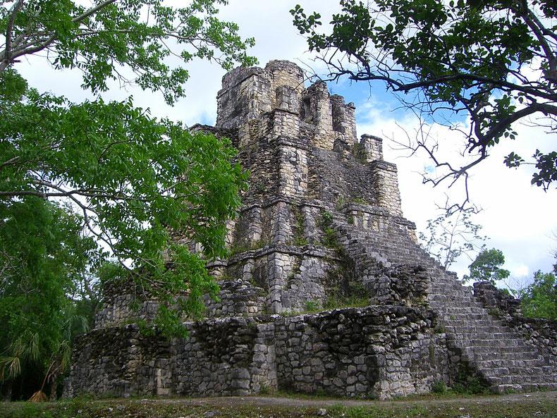 Pyramide von Muyil: El Castillo