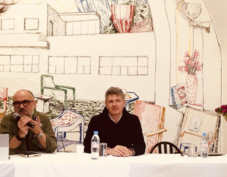 Conférence de Julien Monfort et Didier Faustino | Exposition Domestic Pools - Villa Noailles, 2017