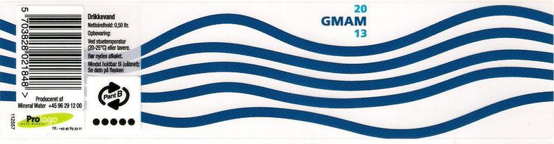 Transparent mit Pfand Logo