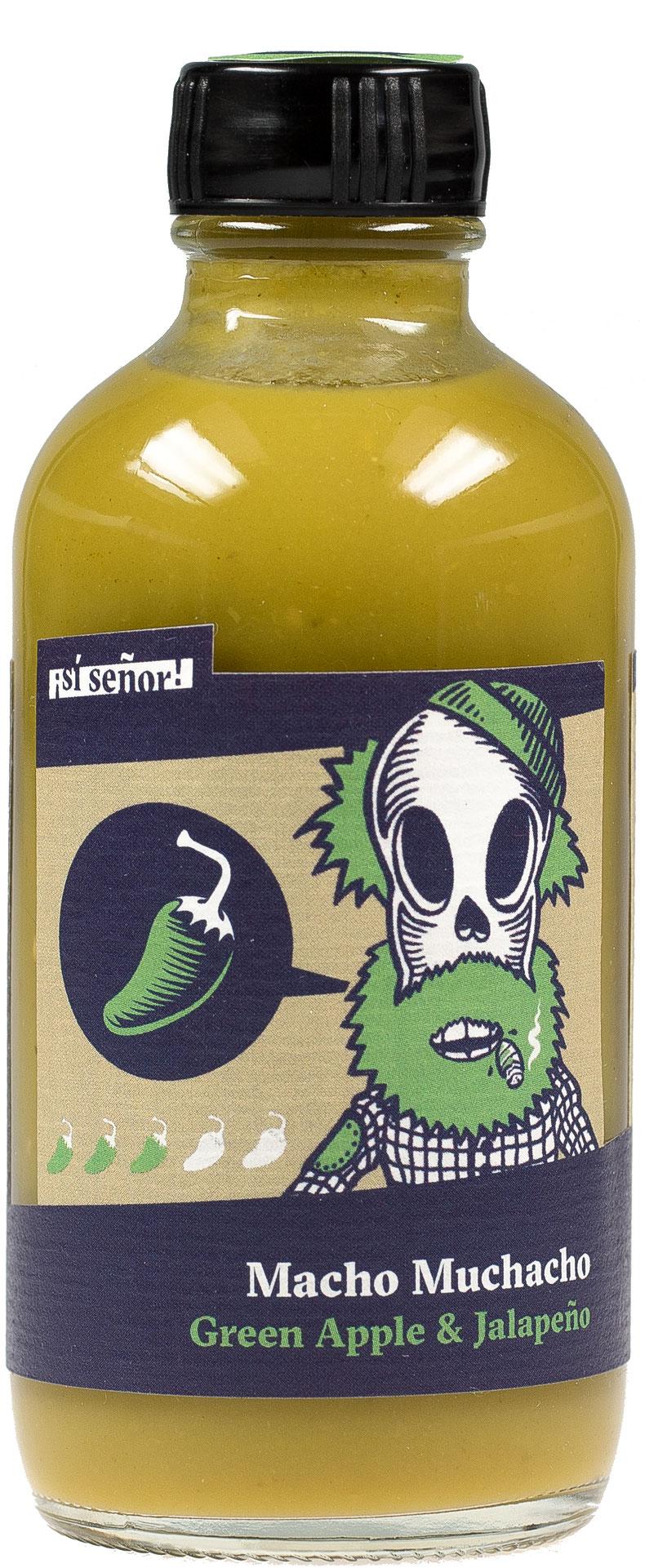 grüne Chilisauce mit Jalapeños