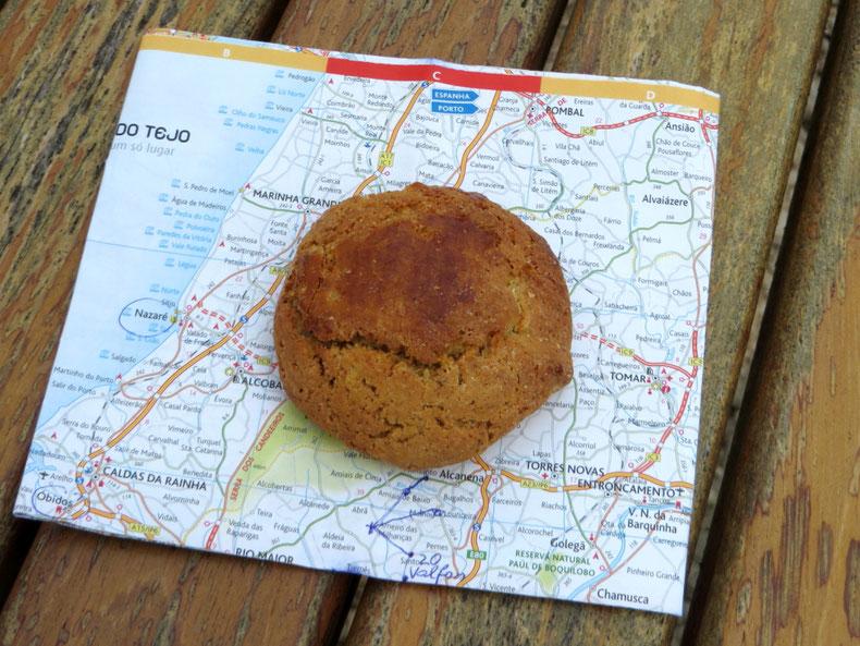 Šiandien piligrimų kelio dovana - sausainis iš pravažiuojančio kepyklos automobilio