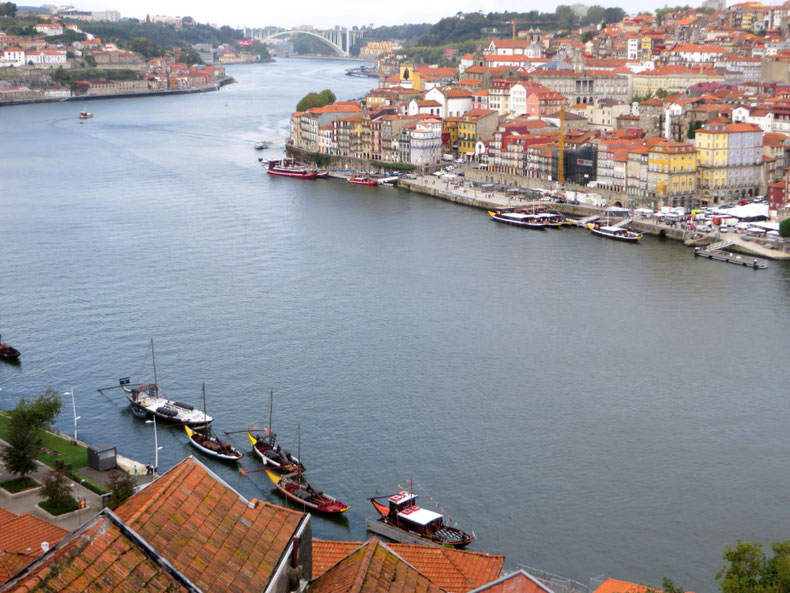 Porto panorama nuo tilto / Foto: Kristina Stalnionytė