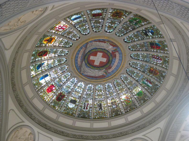 Die heimatliche Kuppel im Bundeshaus