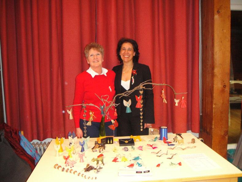 Marion Tretschok und Rosanna Sabaini