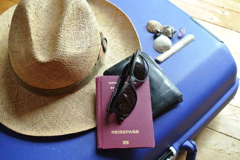 Reisevorbereitung - Checkliste Urlaub