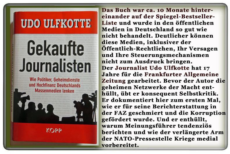 Udo Ulfkotte - Gekaufte Journalisten