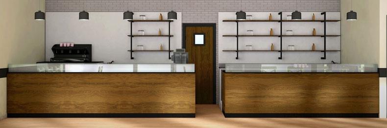 Progettazione Arredamento Bar Milano